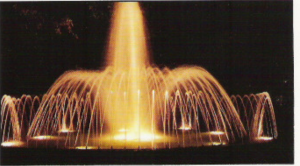 The return of the musical fountain